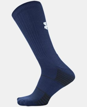 Best Seller Kids' UA Team Crew Socks   $8.99