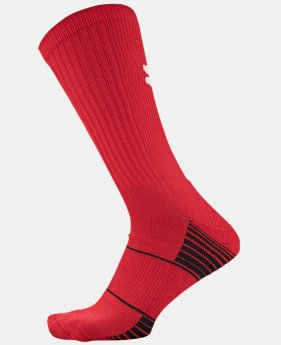 Best Seller Kids' UA Team Crew Socks LIMITED TIME: FREE U.S. SHIPPING  $8.99