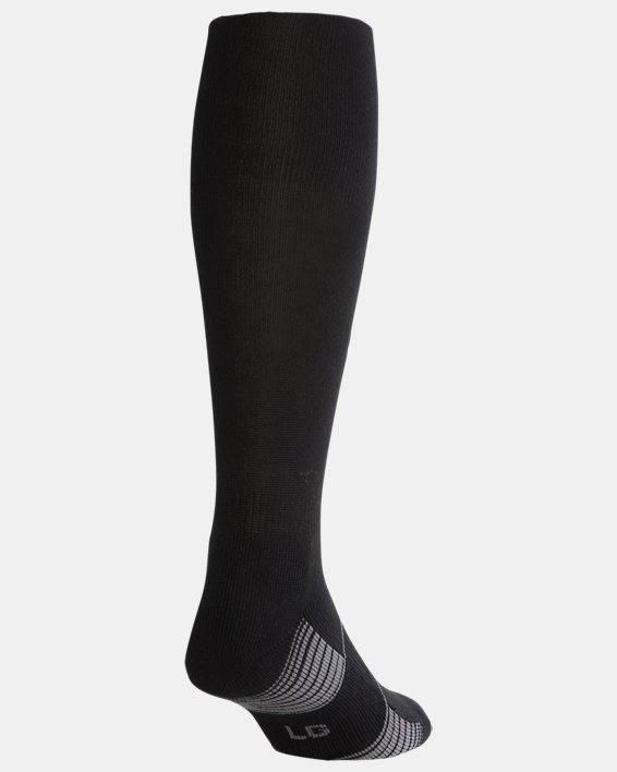 Chaussettes UA Team Over-The-Calf, Black, pdpMainDesktop image number 2