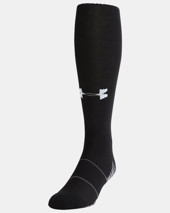 Chaussettes UA Team Over-The-Calf, Black, pdpMainDesktop image number 0