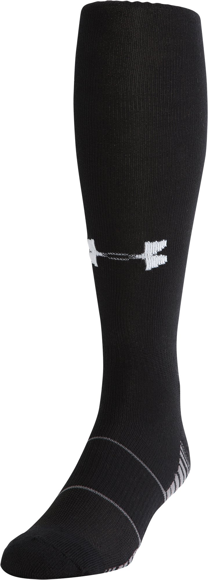 UA Over-The-Calf Team Socks, Black , zoomed image