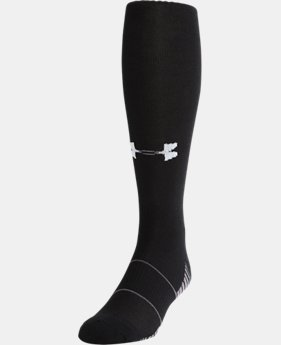 Best Seller UA Over-The-Calf Team Socks  3 Colors $9.99 to $10