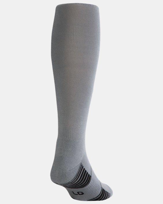 UA Over-The-Calf Team Socks, Gray, pdpMainDesktop image number 2