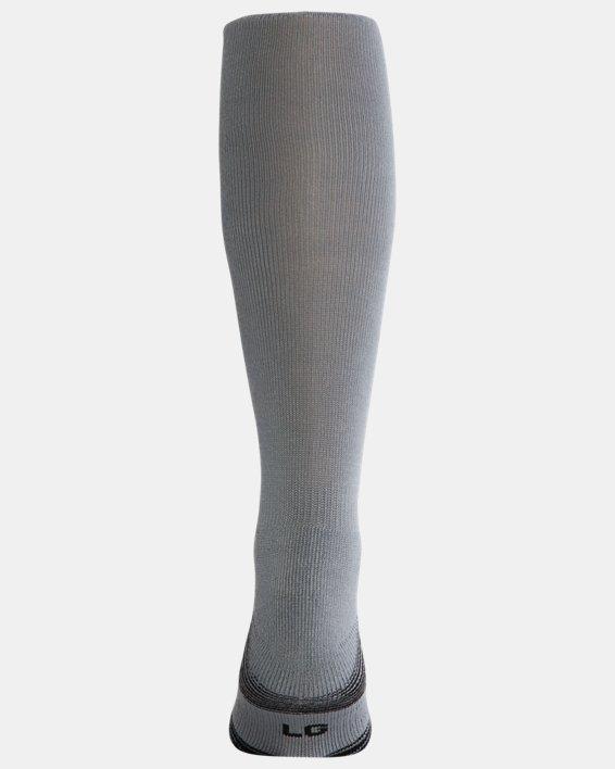 UA Over-The-Calf Team Socks, Gray, pdpMainDesktop image number 1