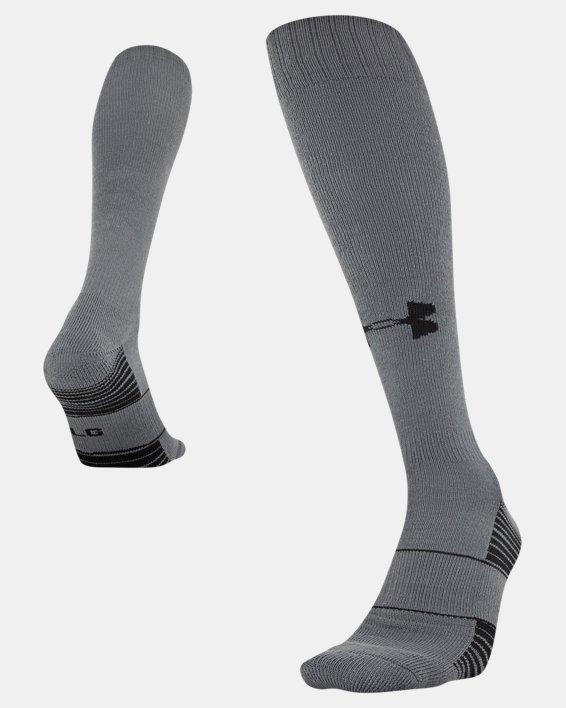 UA Over-The-Calf Team Socks, Gray, pdpMainDesktop image number 4