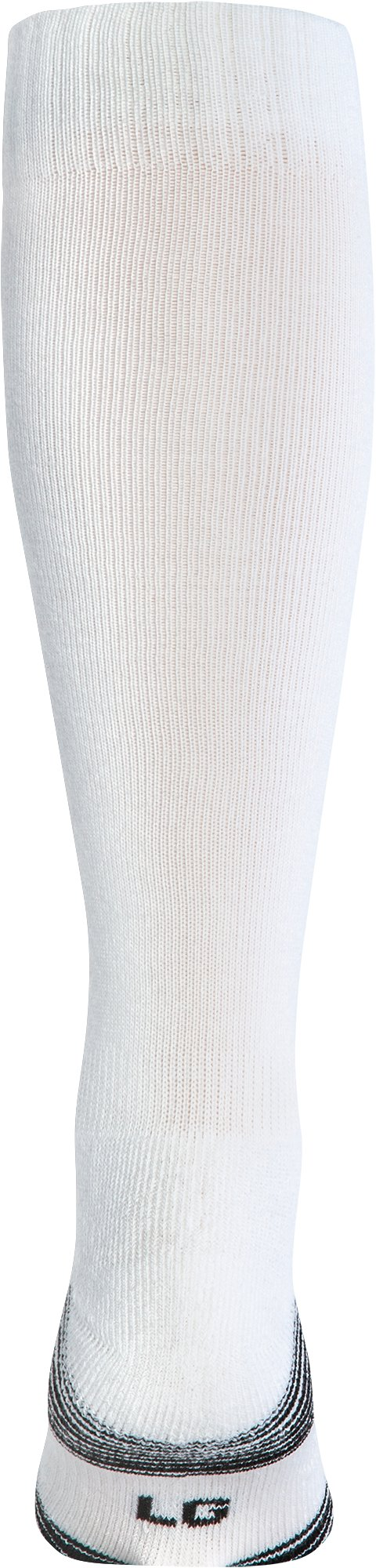 UA Over-The-Calf Team Socks, White