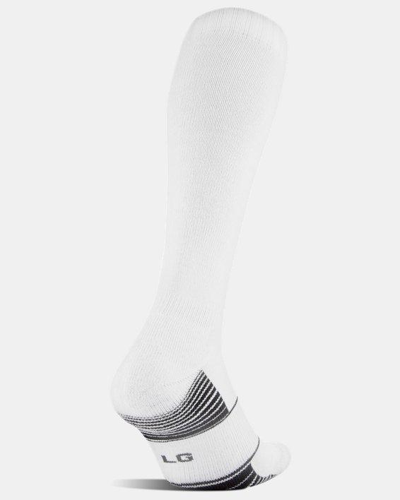 UA Over-The-Calf Team Socks, White, pdpMainDesktop image number 2
