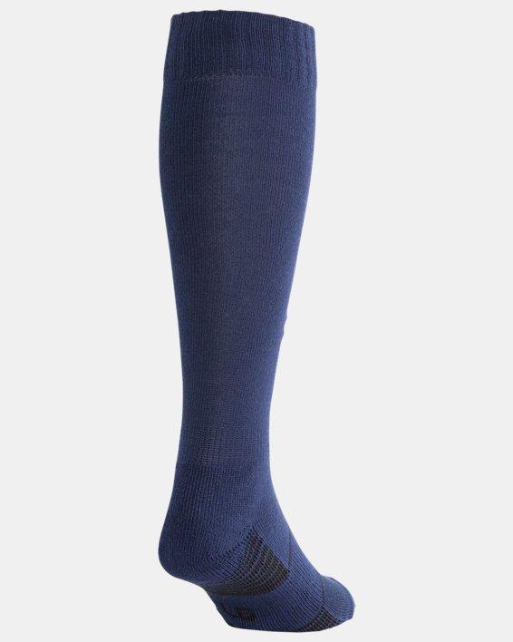 UA Over-The-Calf Team Socks, Navy, pdpMainDesktop image number 2