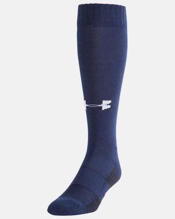 UA Over-The-Calf Team Socks, Navy, pdpMainDesktop image number 0