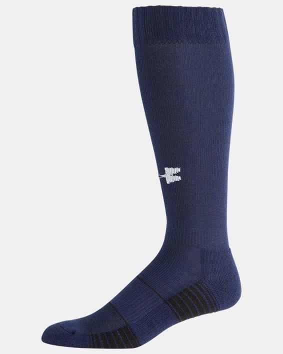 UA Over-The-Calf Team Socks, Navy, pdpMainDesktop image number 3