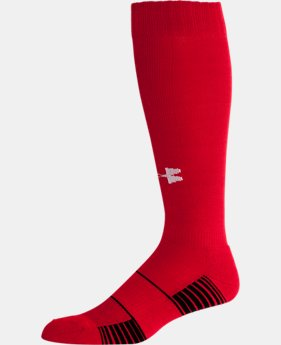 Best Seller UA Over-The-Calf Team Socks  3  Colors Available $9.99 to $10