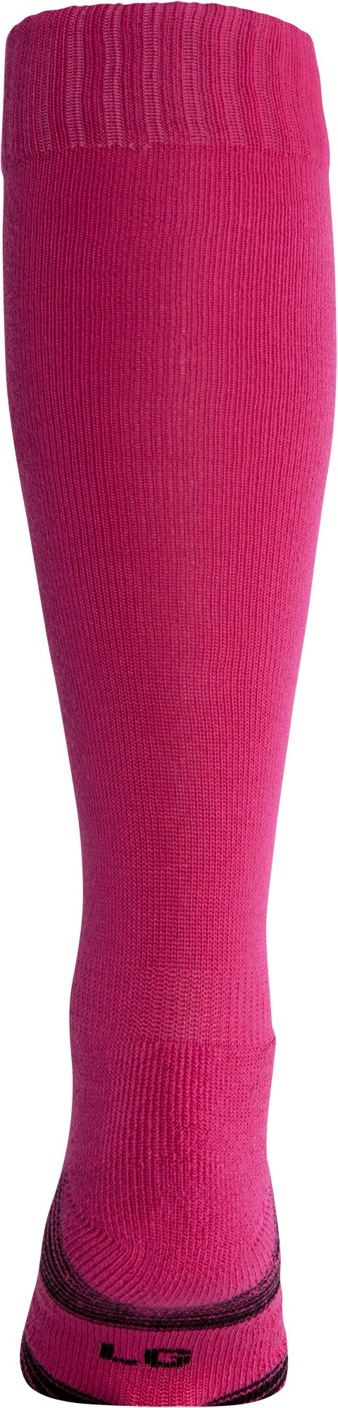 UA Over-The-Calf Team Socks, Tropic Pink