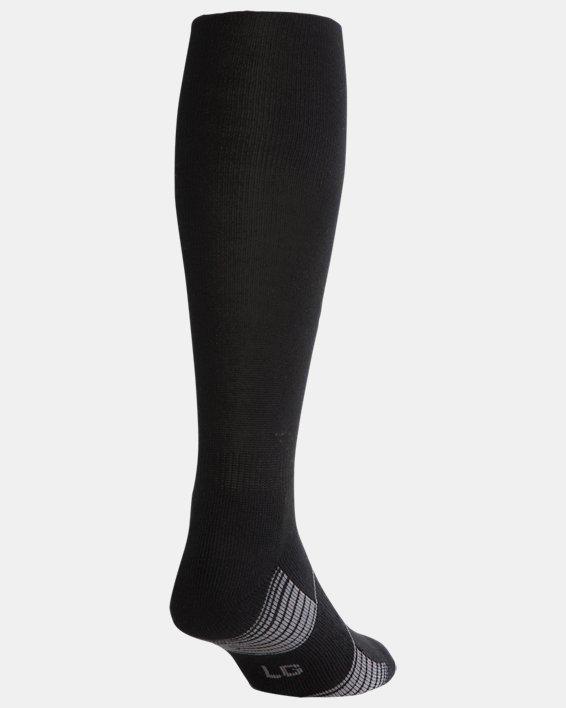 Kids' UA Over-The-Calf Team Socks, Black, pdpMainDesktop image number 2