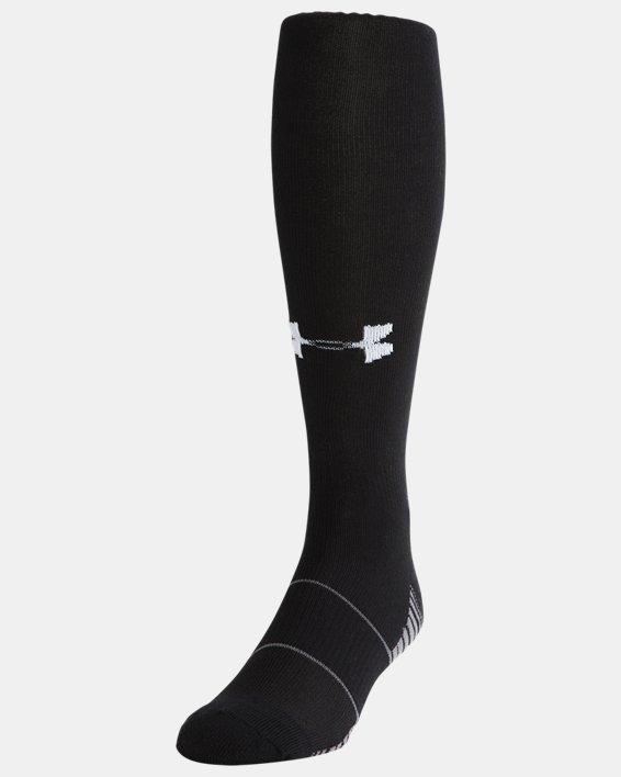 Kids' UA Over-The-Calf Team Socks, Black, pdpMainDesktop image number 0
