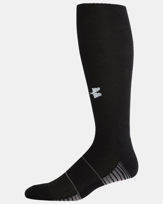 Kids' UA Over-The-Calf Team Socks, Black, pdpMainDesktop image number 3