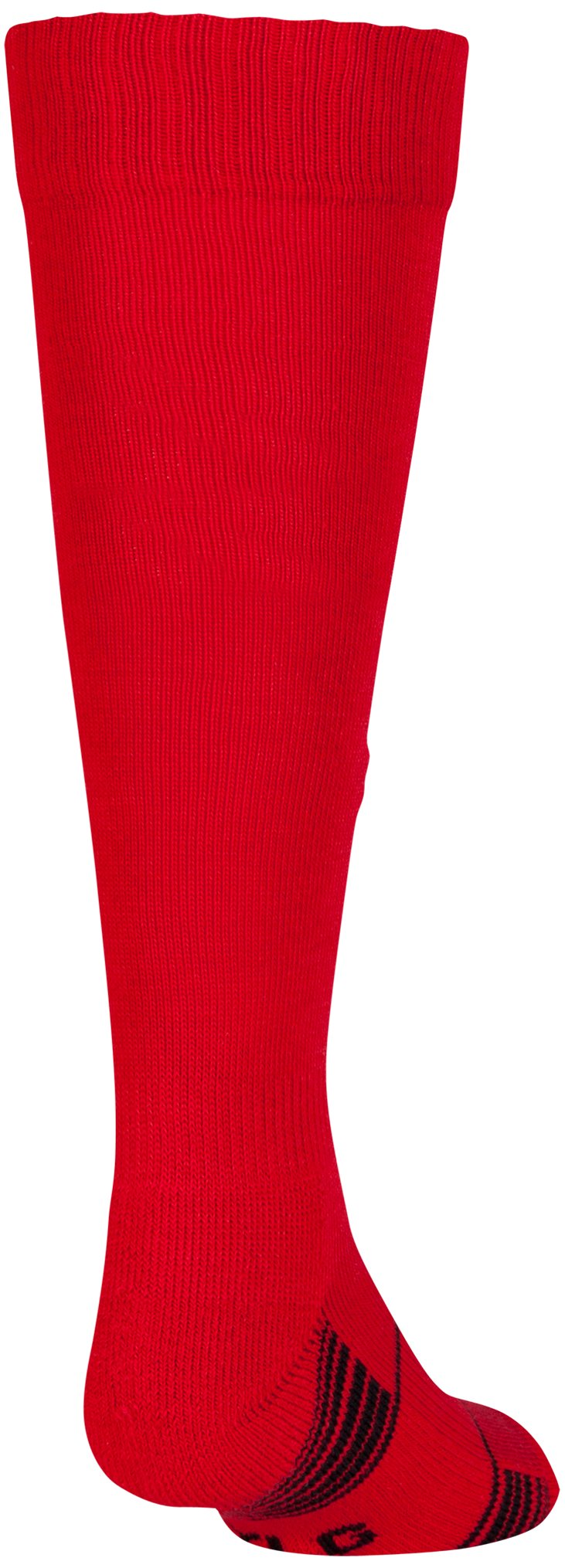 Kids' UA Over-The-Calf Team Socks, Red, undefined