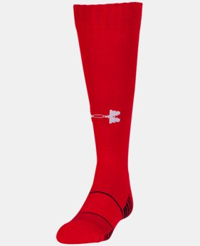 Kids' UA Over-The-Calf Team Socks  1  Color Available $9