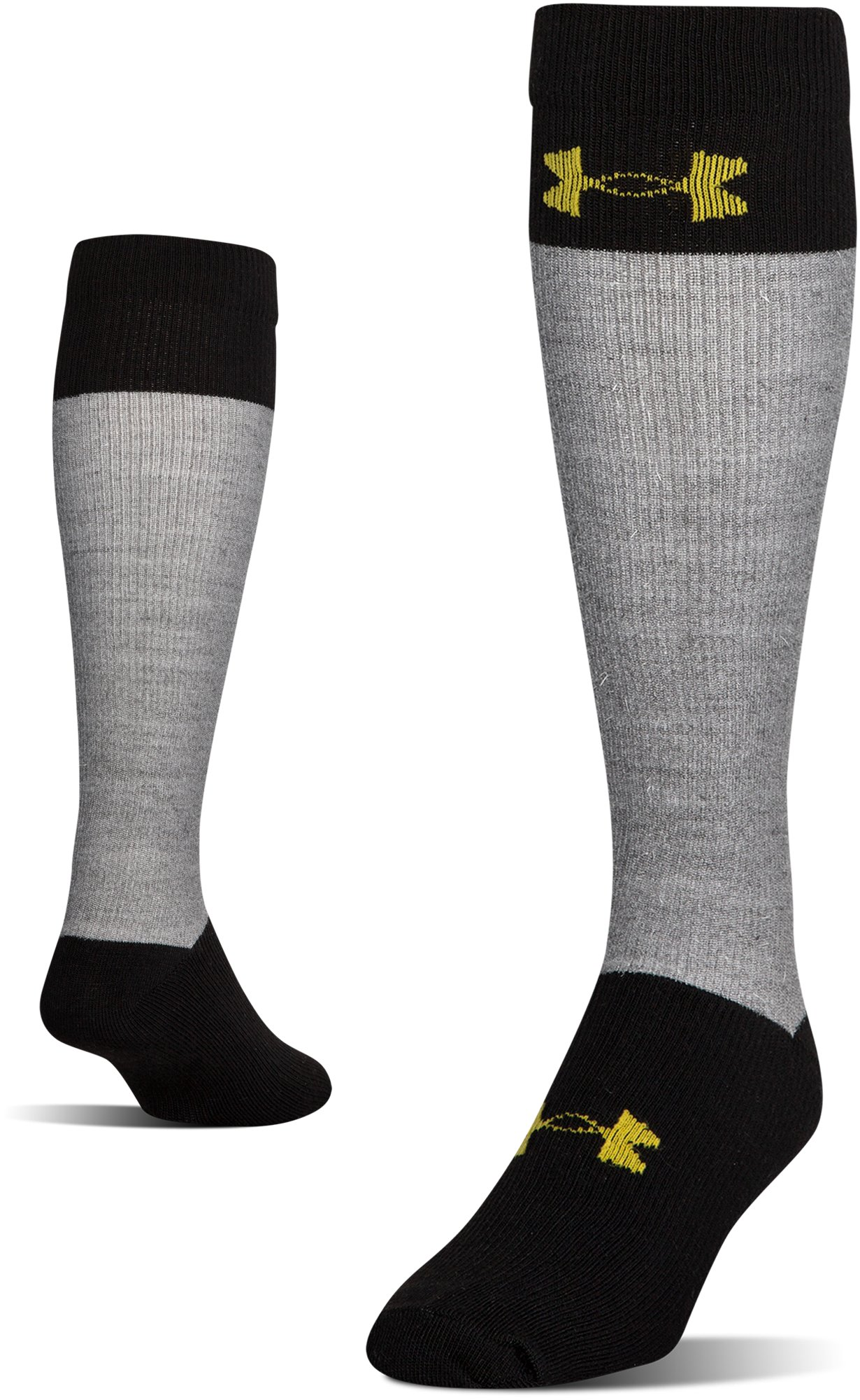 Men's UA Hockey Armour® Over-The Calf Socks, Steel