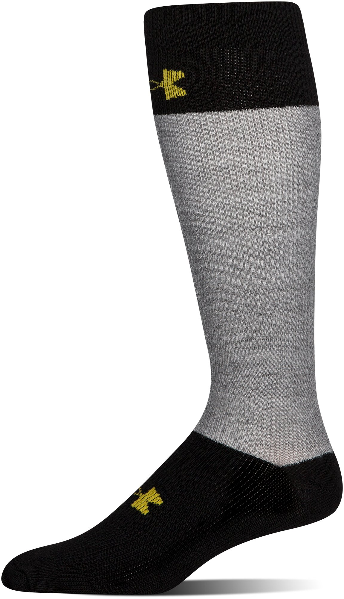 Men's UA Hockey Armour® Over-The Calf Socks, Steel, undefined