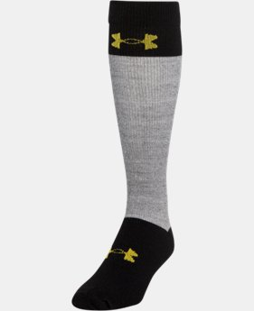 Boys' UA Hockey Armour® Over The Calf Socks  1 Color $49.99