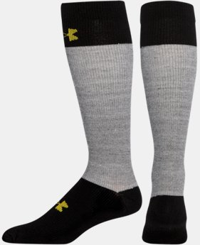 Boys' UA Hockey Armour® Over The Calf Socks