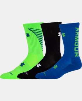 Men's UA Armour® Crew Socks 3-Pack