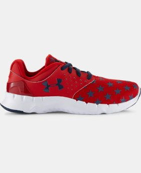 Boys' Grade School UA Flow Flag Graphic Running Shoes