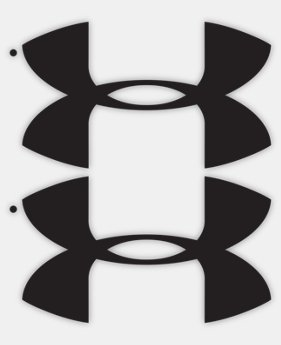 UA Logo Decals - 2 pack