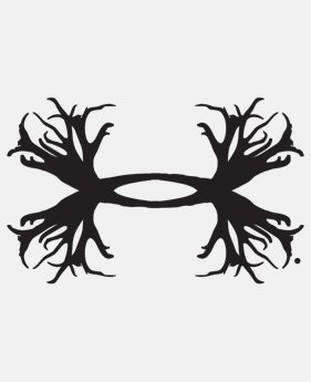 UA Big Antler Logo Decal - 12 Inch