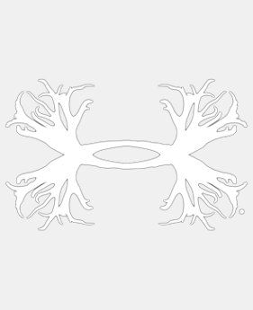 UA Big Antler Logo Decal - 15 Inch