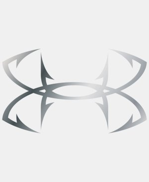 UA Fish Hook Logo Emblem Decal - 2 pack LIMITED TIME: FREE U.S. SHIPPING 1 Color $16.99