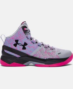 Boys' Grade School UA Curry Two Basketball Shoes LIMITED TIME: FREE SHIPPING 3 Colors $119.99