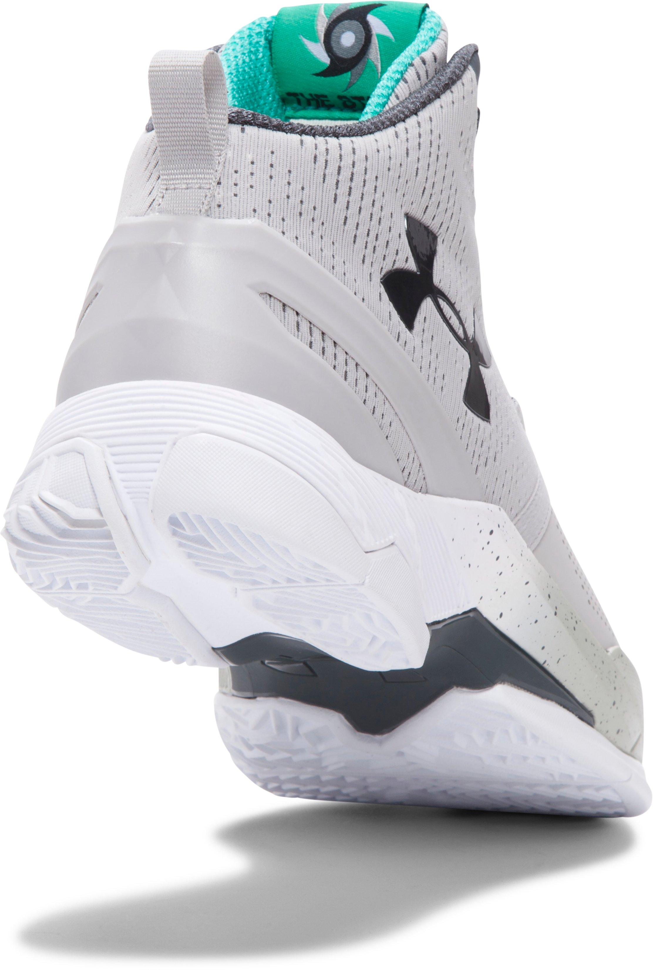 Boys' Grade School UA Curry Two Basketball Shoes, Aluminum, undefined