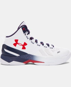 Boys' Grade School UA Curry Two Basketball Shoes LIMITED TIME: FREE SHIPPING 1 Color $119.99