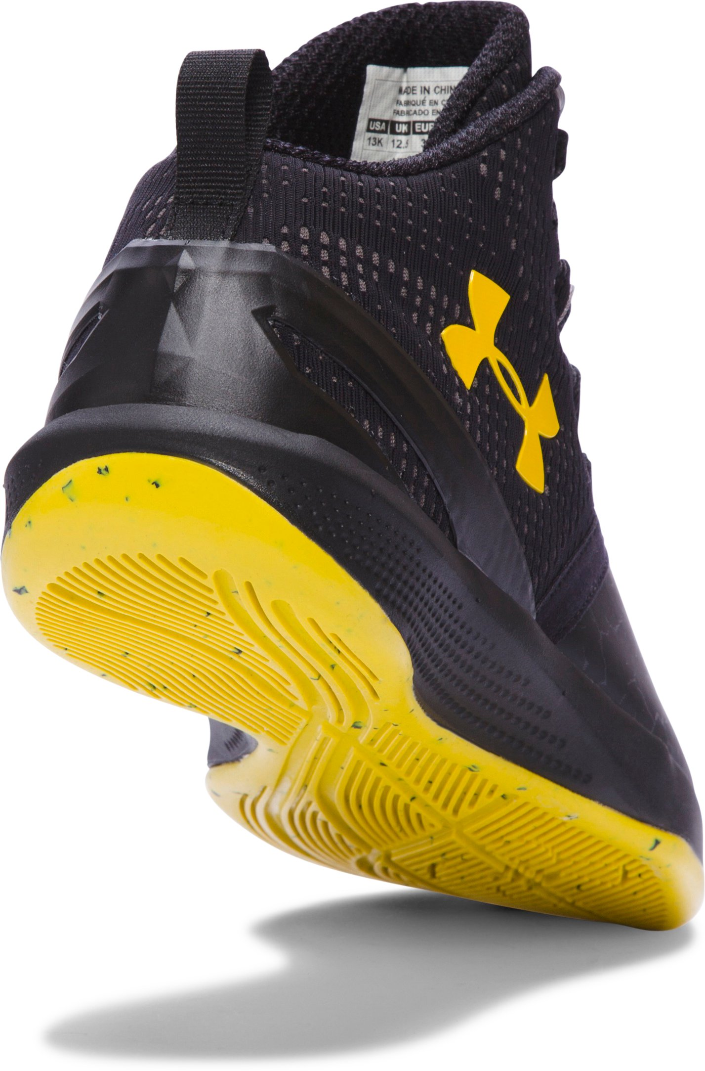 Boys' Pre-School UA Curry Two Basketball Shoes, Black , undefined