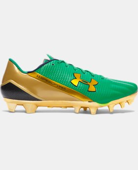 Men's Notre Dame Shamrock Series UA SpeedForm® MC Football Cleats