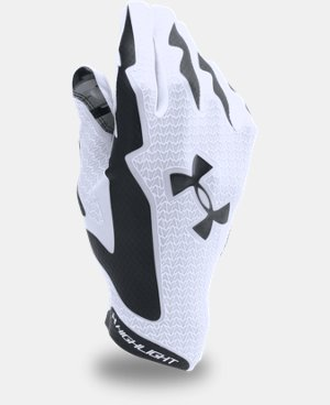 Best Seller Men's UA Highlight Football Gloves  4 Colors $54.99