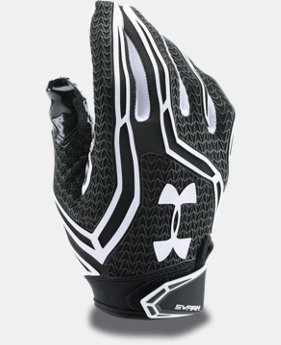 New Arrival  Men's UA Swarm II Football Gloves  2 Colors $59.99