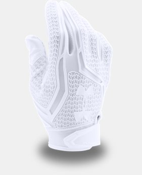 New Arrival  Men's UA Swarm II Football Gloves  4 Colors $59.99