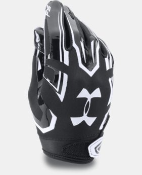 New Arrival  Boys' Pee Wee UA F5 Football Gloves LIMITED TIME: FREE SHIPPING 1 Color $29.99