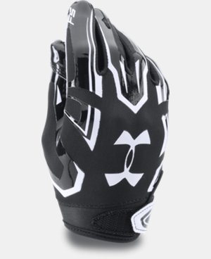 Boys' Pee Wee UA F5 Football Gloves   $29.99