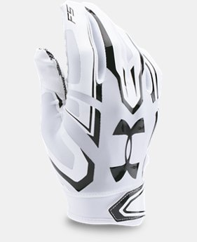 Boys' Pee Wee UA F5 Football Gloves  1 Color $29.99