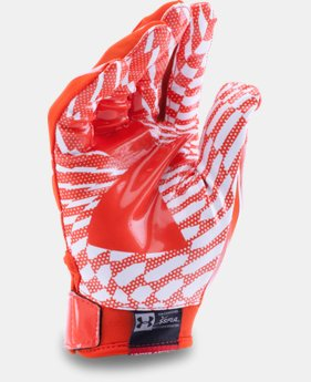New Arrival Boys' Pee Wee UA F5 Football Gloves  1 Color $24.99