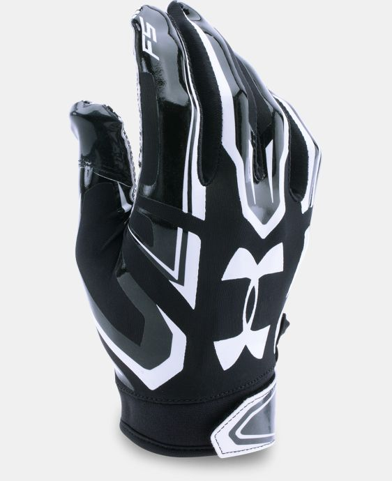 Boys' UA F5 Football Gloves LIMITED TIME: FREE SHIPPING 1 Color $29.99