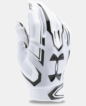 Best Seller Boys' UA F5 Football Gloves  2 Colors $24.99