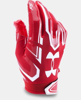 Boys' UA F5 Football Gloves  4  Colors Available $18.99