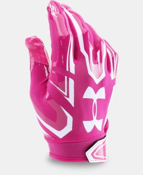Boys' UA F5 Football Gloves  8 Colors $24.99