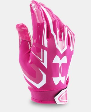 Boys' UA F5 Football Gloves LIMITED TIME: FREE U.S. SHIPPING 2 Colors $24.99