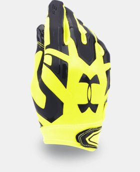 Boys' UA F5 Football Gloves  2 Colors $24.99