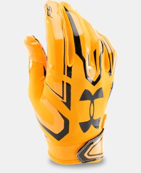 Boys' UA F5 Football Gloves LIMITED TIME: FREE U.S. SHIPPING 1 Color $24.99